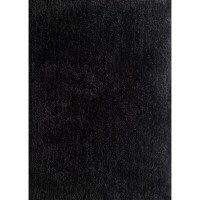 Rug Factory Plus Harmony Black Shag Area Rug