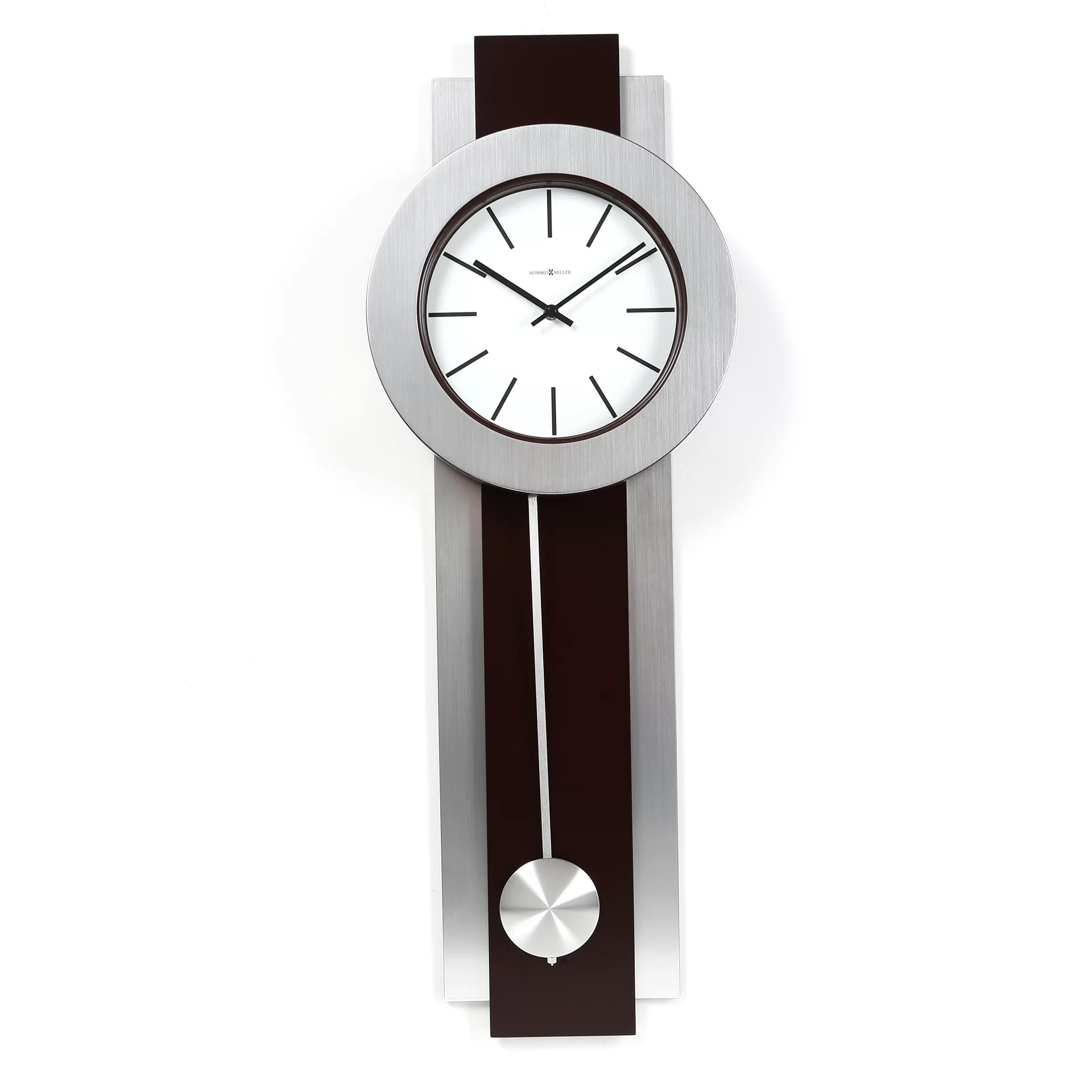 Design Wall Clock Howard Miller Designer Choice Bergen Quartz Wall Clock