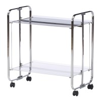 Zipcode Design Stacey Acrylic Bar Cart & Reviews | Wayfair