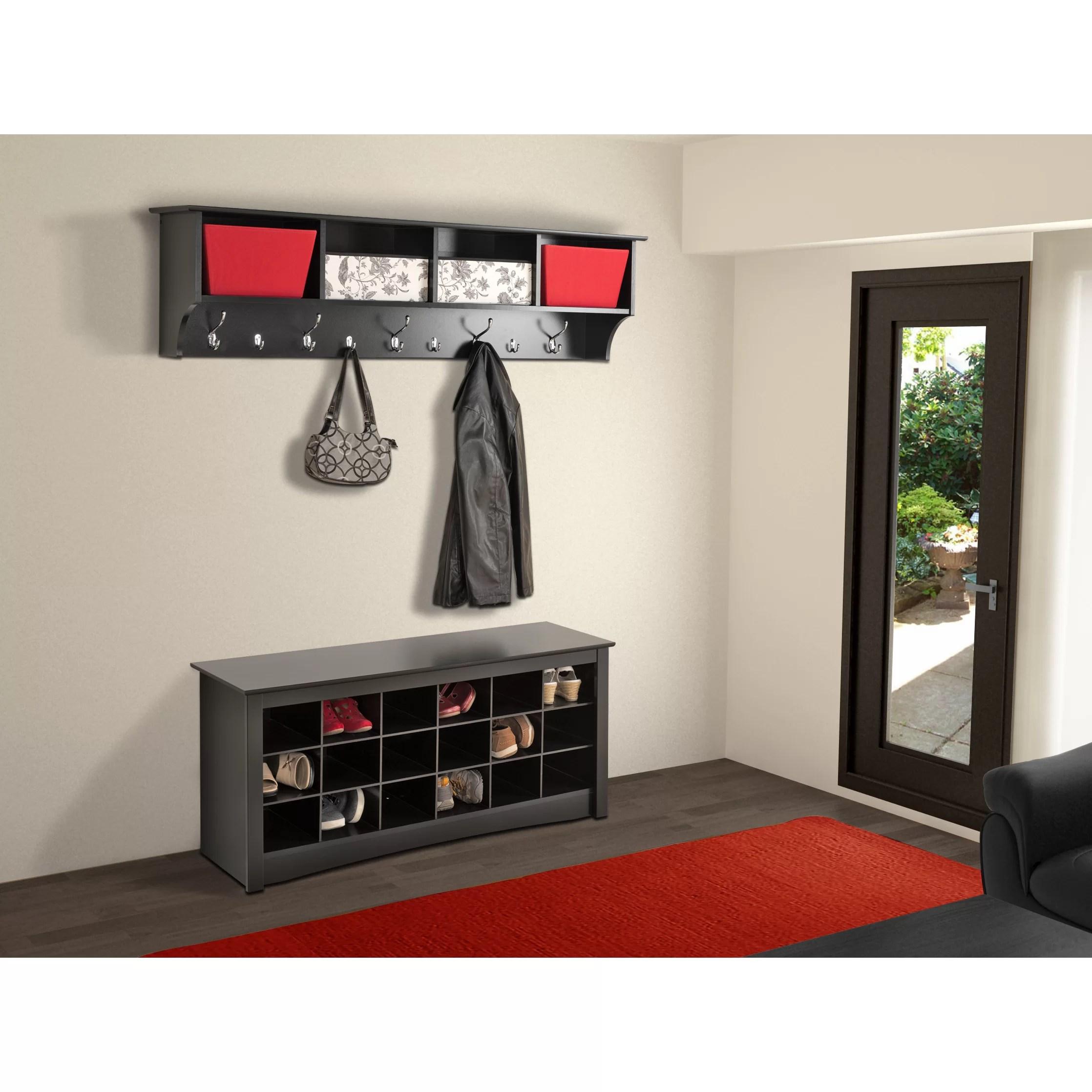 Zipcodetm Design Mackenzie 60quot Hanging Entryway 9 Hook