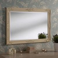 Yearn Mirrors Florence Ivory Wall Mirror | Wayfair UK