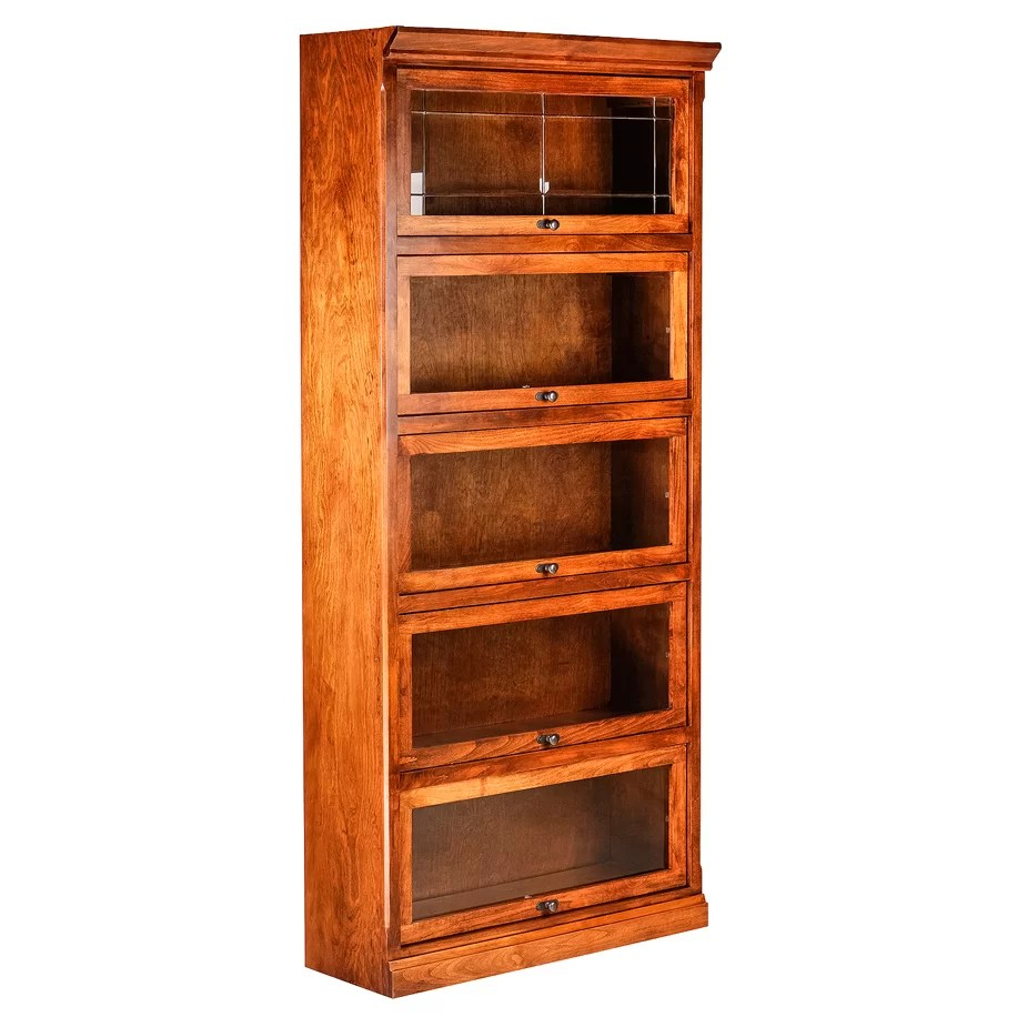Forest Designs Mission Legal Barrister Bookcase Wayfair