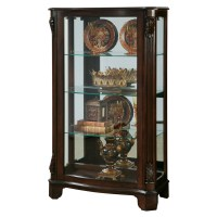 Pulaski Mantel Curio Cabinet & Reviews | Wayfair