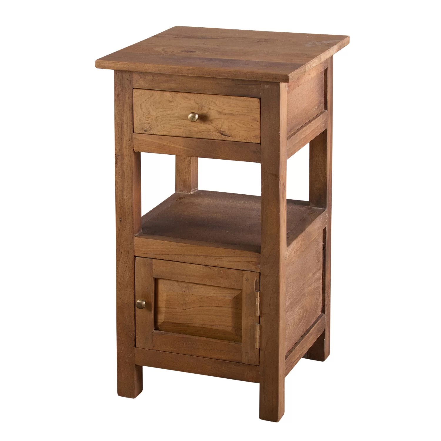 Bedside Table Designs Urban Designs Tanya 1 Drawer Bedside Table Wayfair Uk