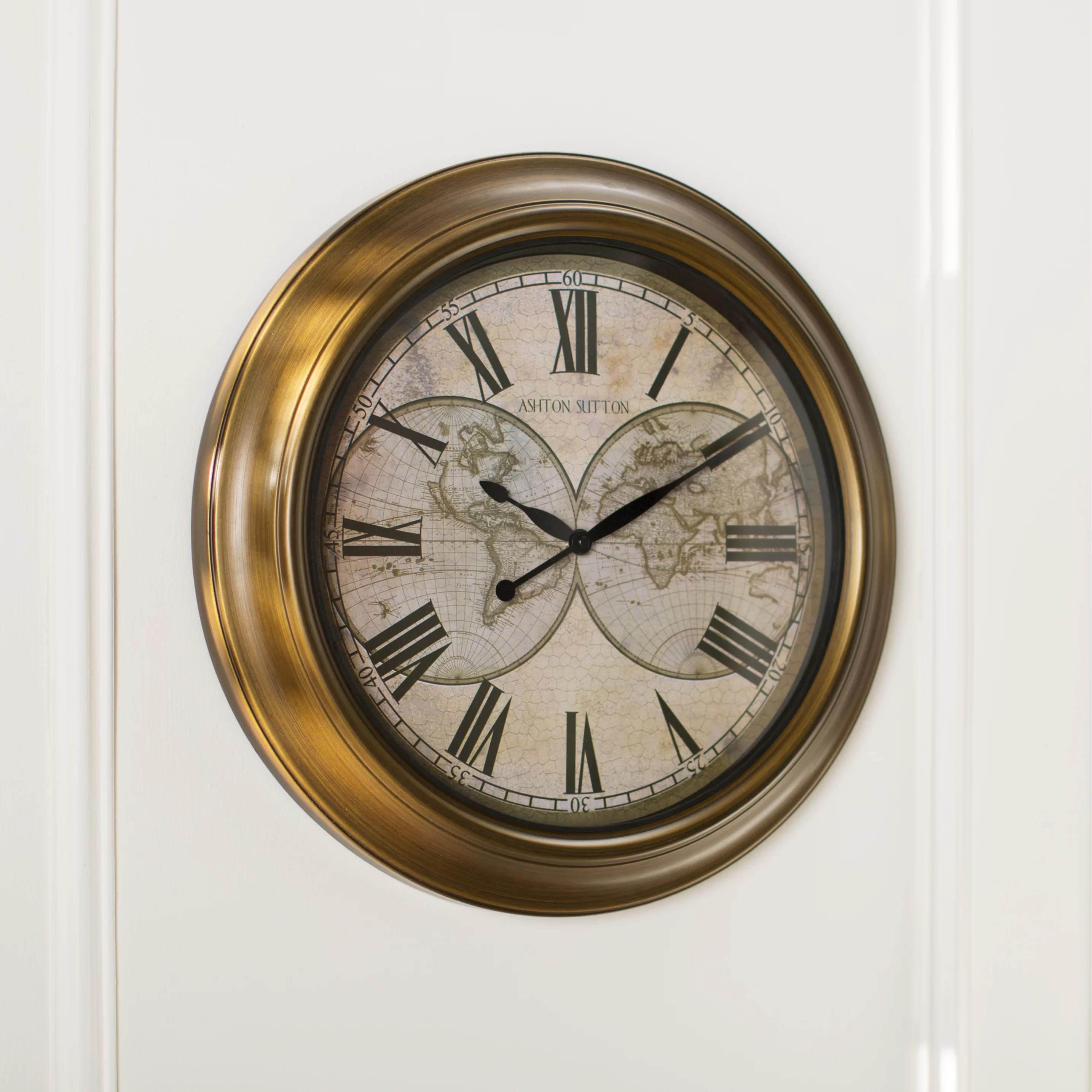 Classical Wall Clocks Three Posts Classic 18 Quot Wall Clock And Reviews Wayfair