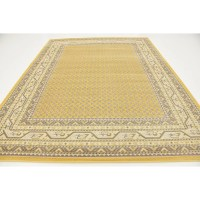 Three Posts Gillam Yellow Area Rug & Reviews | Wayfair