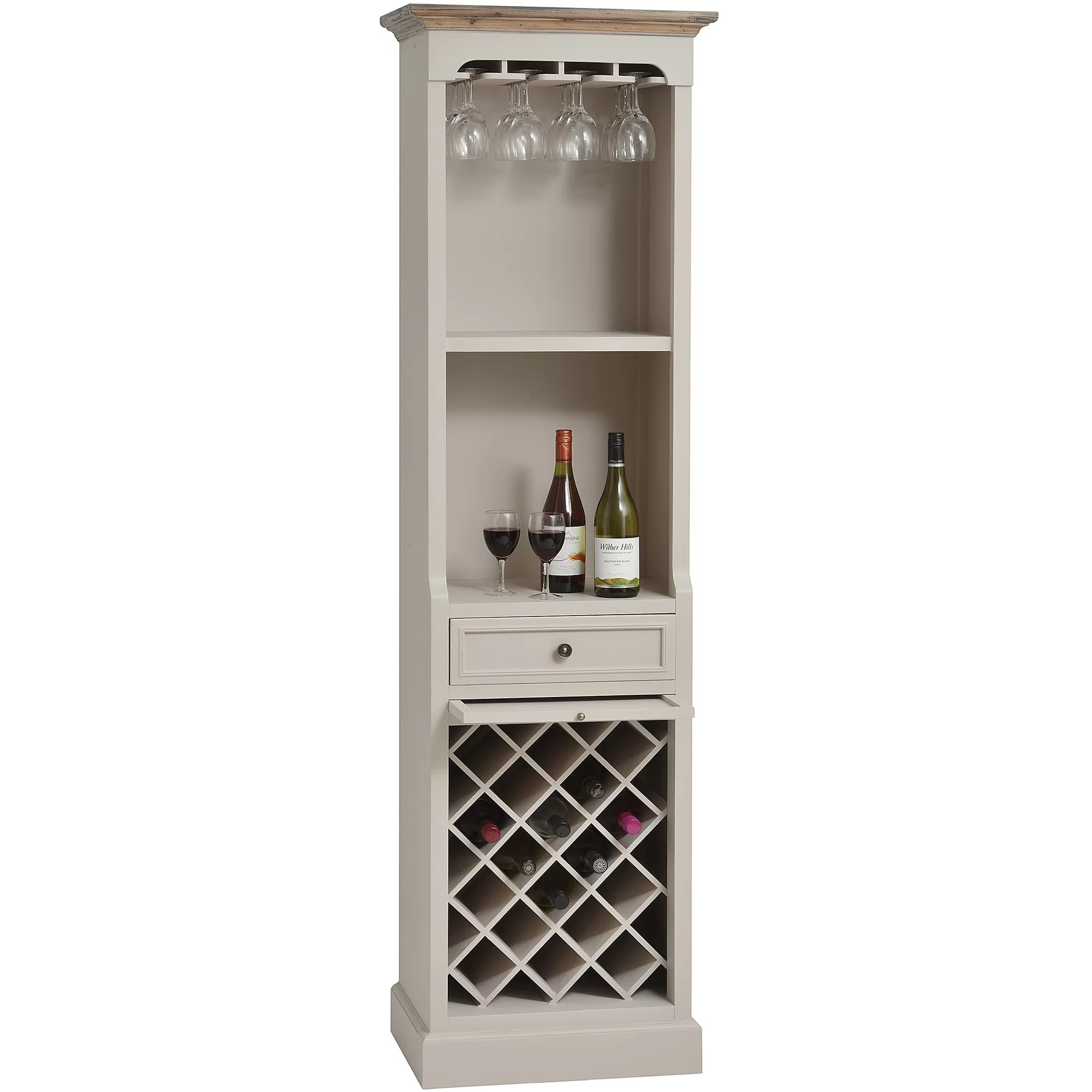 In Floor Wine Storage Hill Interiors Studley 12 Bottle Floor Wine Rack Wayfair Uk