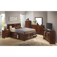 Glory Furniture Storage Platform Customizable Bedroom Set ...