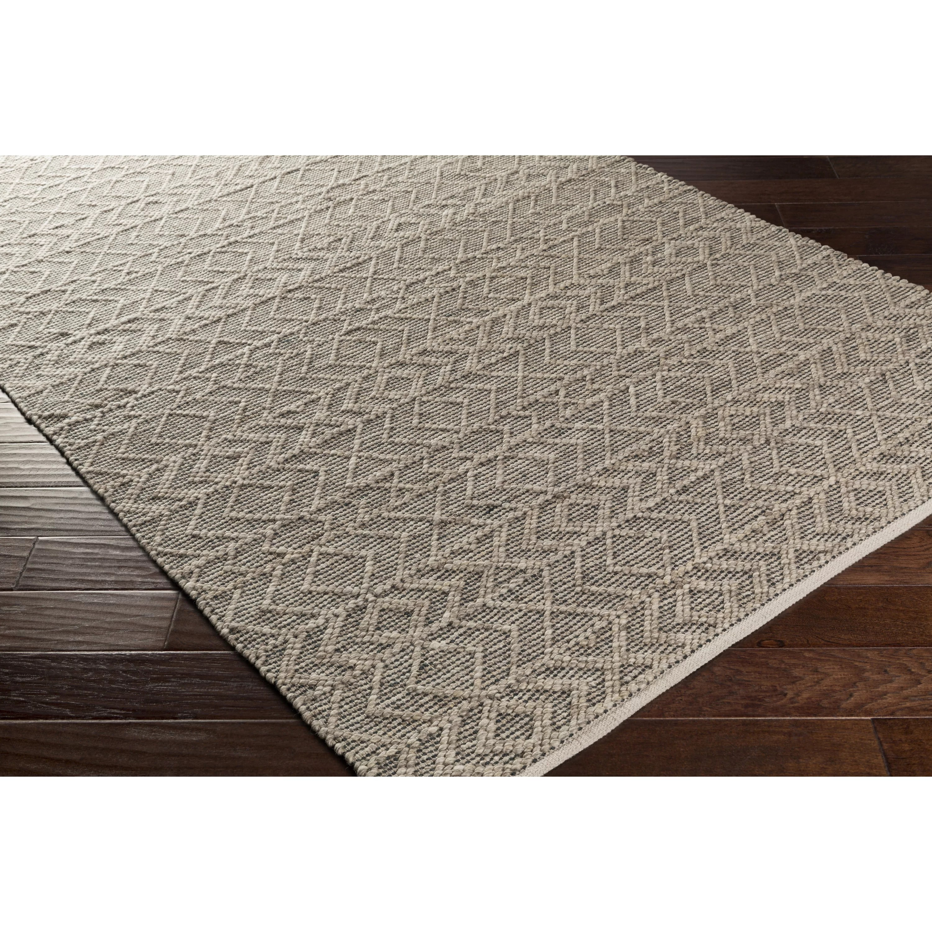 Woven Rugs Bungalow Rose Khalifa Hand Woven Gray Area Rug And Reviews