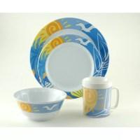 Galleyware Company Decorated Melamine Ocean Breeze 16 ...