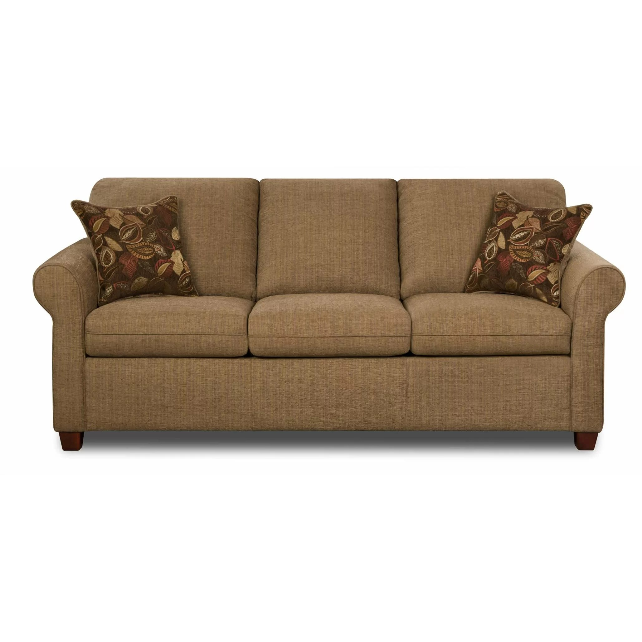 Hide A Bed Sectional Rustic Style Sleeper Sofa Baci Living Room