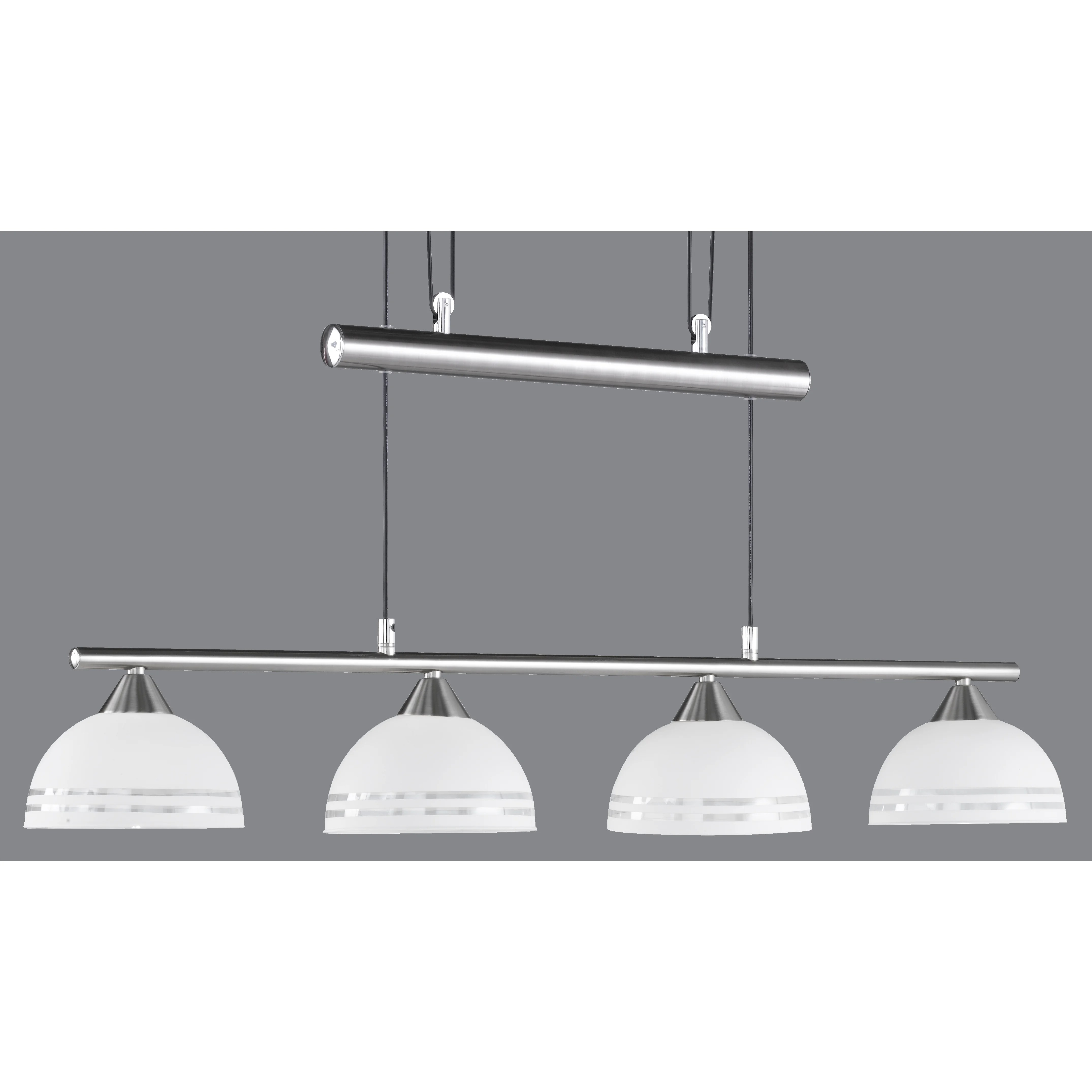 Balken Pendelleuchte Trio Balken Pendelleuchte 4 Flammig And Reviews Wayfair De