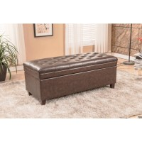 Bellasario Collection Upholstered Storage Bedroom Bench ...