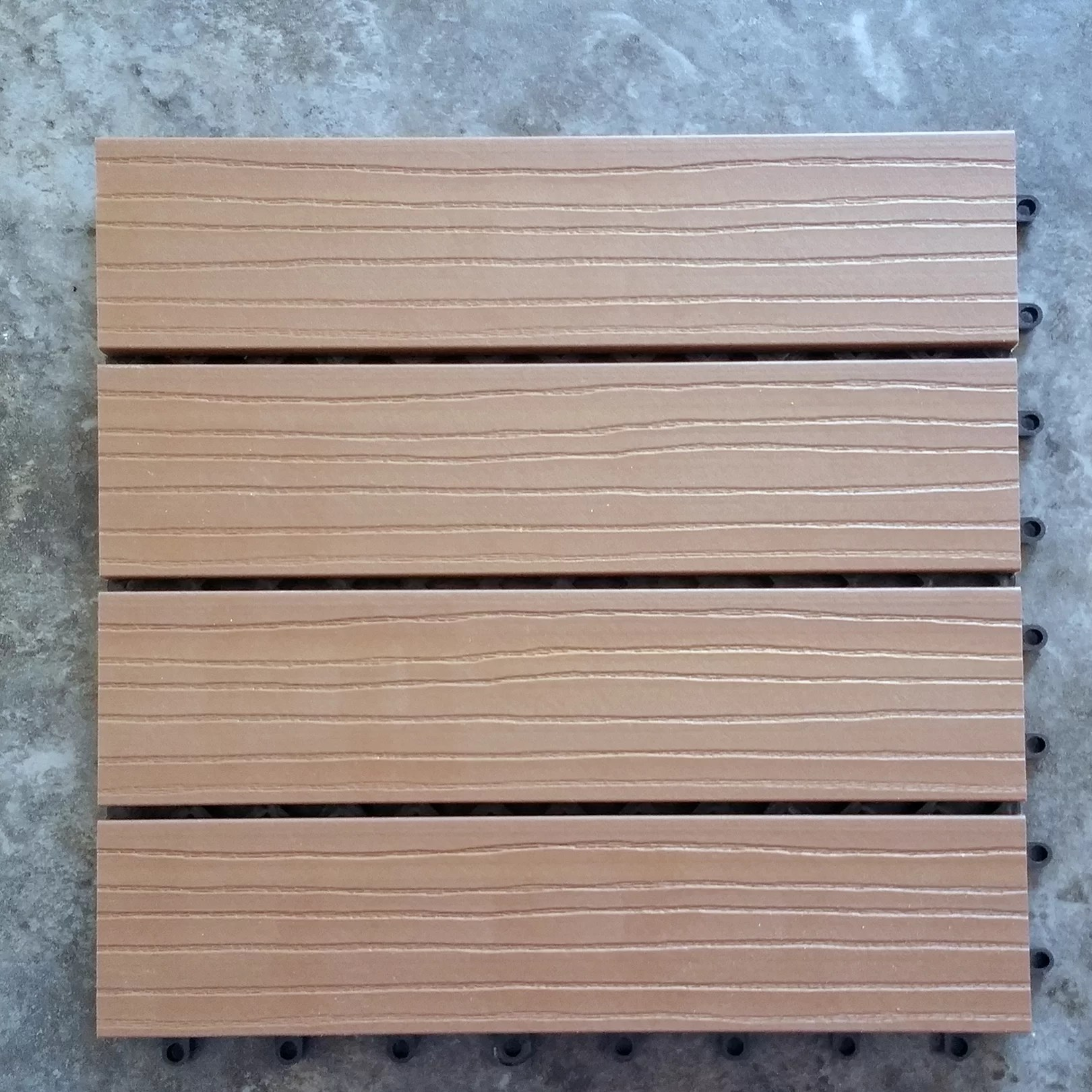 Composite Deck Tiles Vifah Composite Cedar 12 Quot X 12 Quot Interlocking Deck Tiles