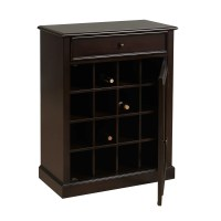 Darby Home Co Biali 16 Bottle Floor Wine Cabinet & Reviews ...
