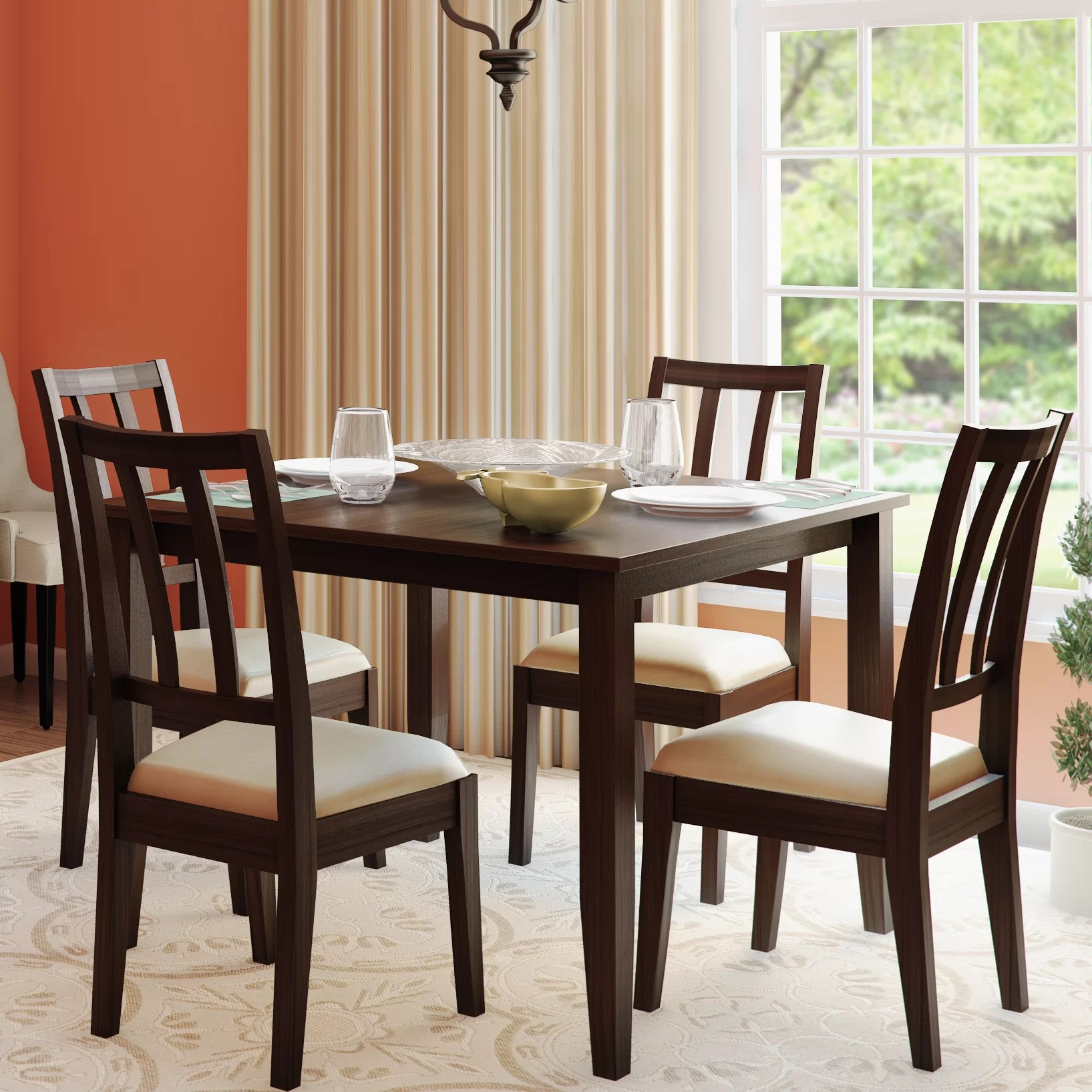 Matching Office Desk Accessories Alcott Hill Primrose Road 5 Piece Dining Set And Reviews