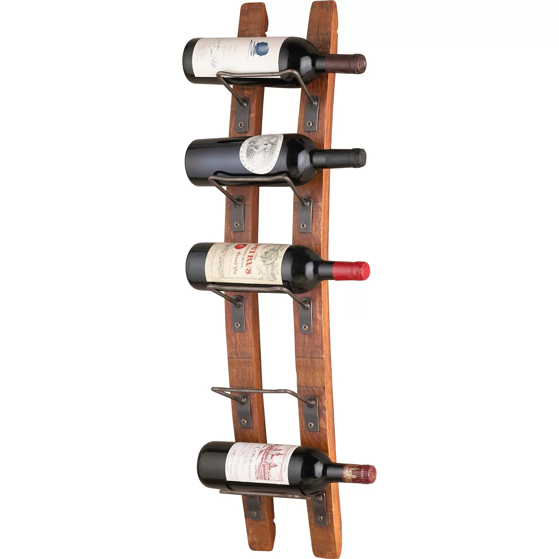 Small Wall Mounted Wine Rack Trent Austin Design Blackburn 5 Bottle Wall Mounted Wine