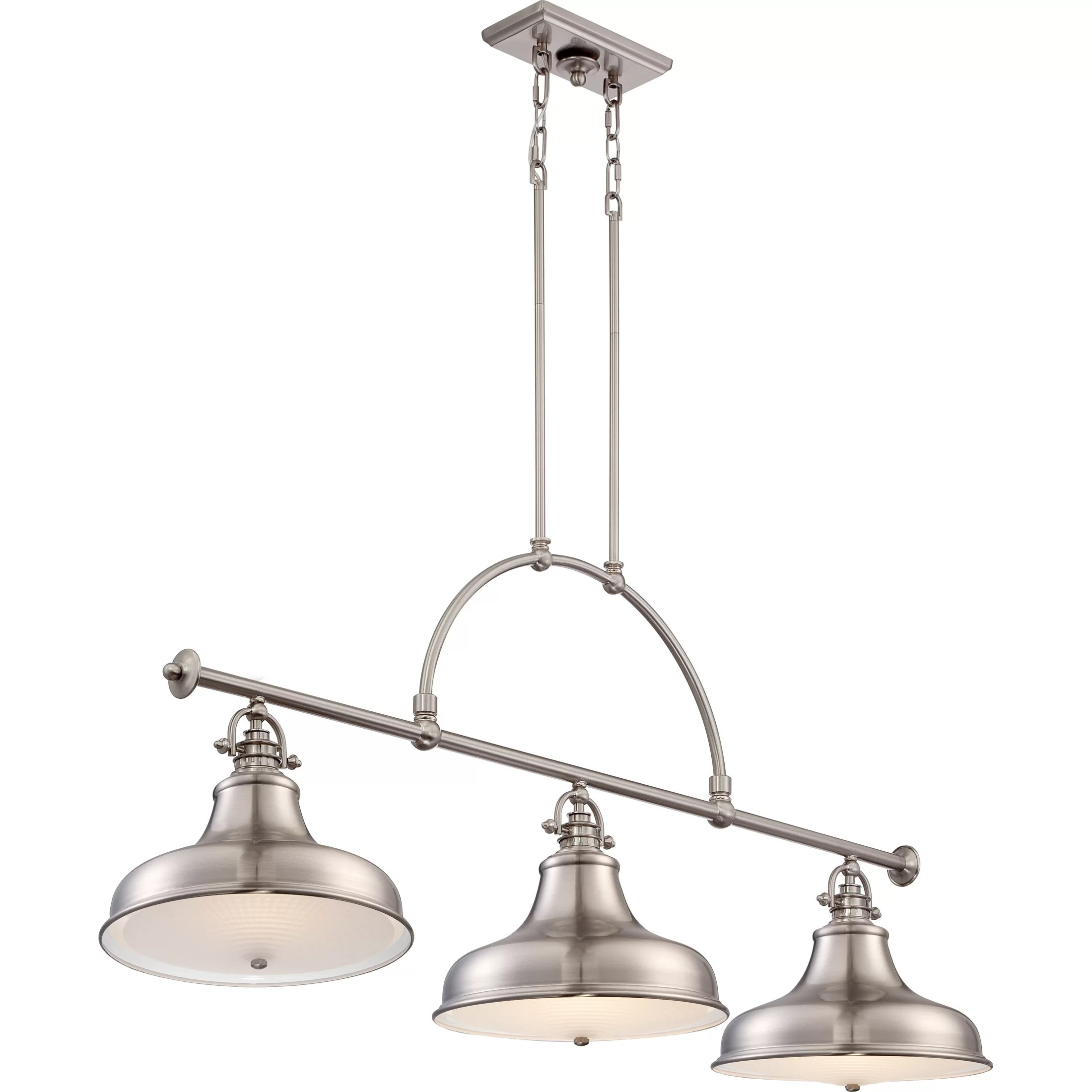 Pendant Island Lights Trent Austin Design Cetona 3 Light Kitchen Island Pendant