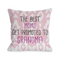 House of Hampton Calaver Moms to Grandma Throw Pillow ...