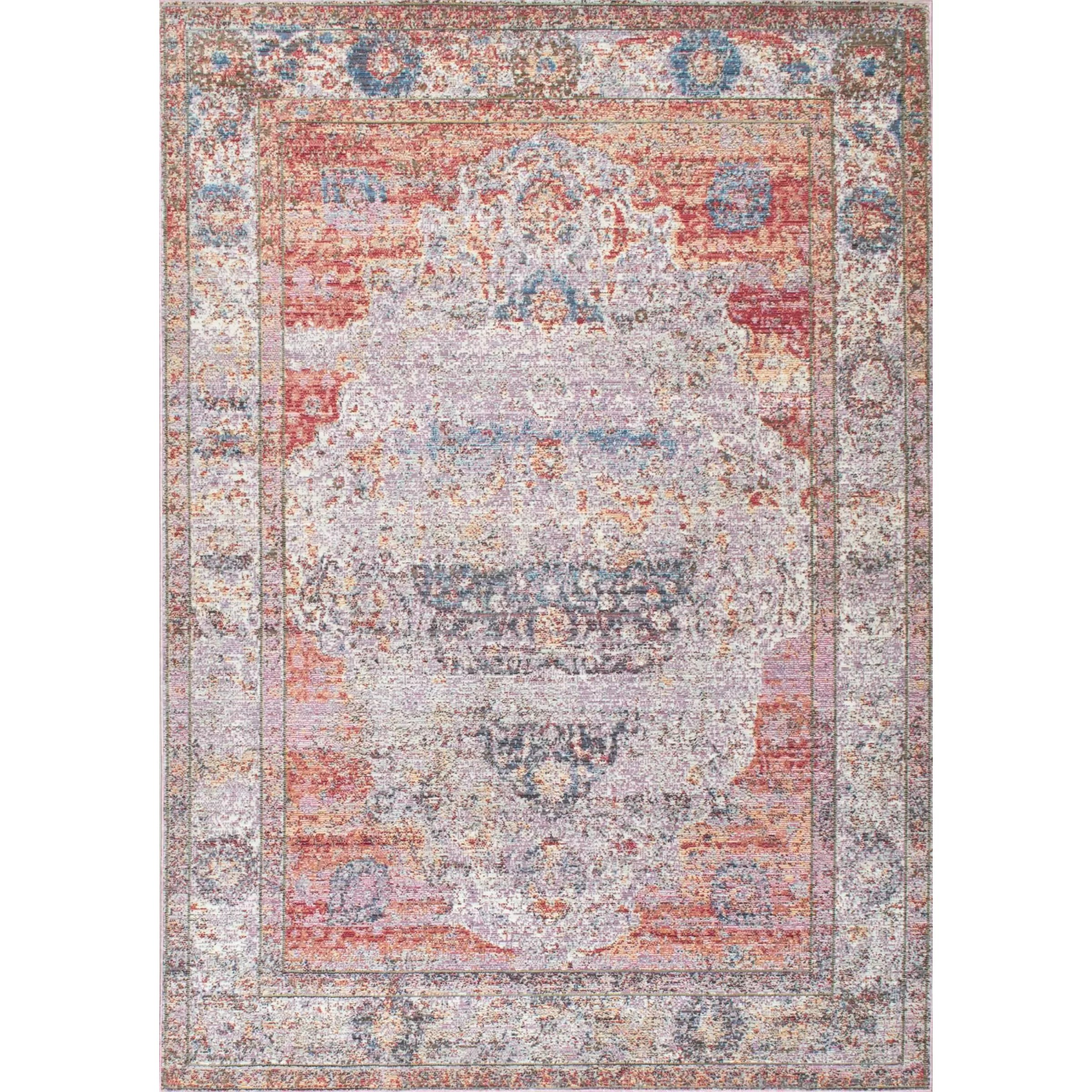 Blush Rug Bungalow Rose Hruby Blush Area Rug And Reviews Wayfair