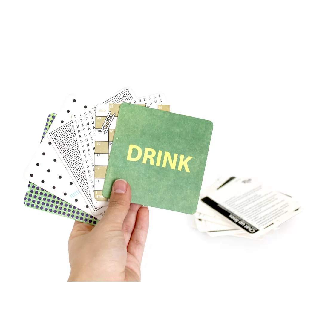 Bar Drink Mats Suck Uk Bar Games And Cocktail Challenge Drink Mats Wayfair