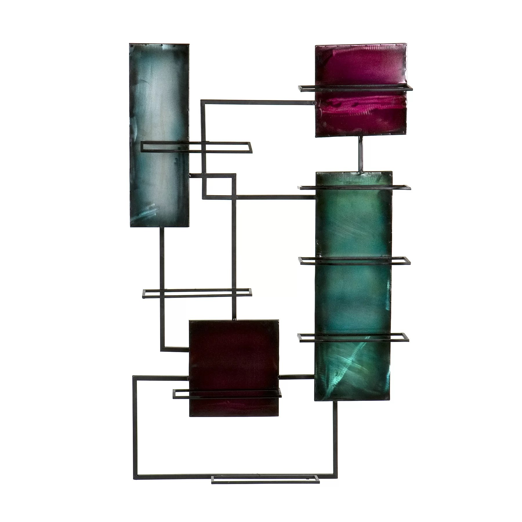 Hanging Bottle Rack World Menagerie Sequeira 8 Bottle Wall Mounted Wine Rack