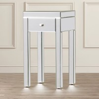 Mercer41 Milner Mirror End Table & Reviews