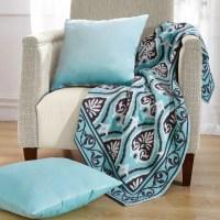 BOON Throw & Blanket Neapoli Knitted EZ Matching Throw ...