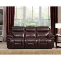 Amax Sanford 2 Piece Leather Power Reclining Living Room ...
