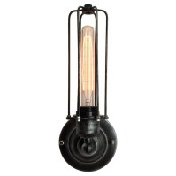 Westmen Lights 1 Light Wire Cage Wall Sconce & Reviews ...