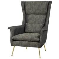Homegear Spirit High Back Upholstered Wingback Chair | Wayfair