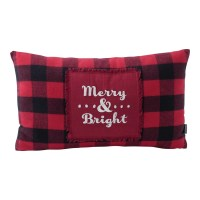 "Hallmark Home & Gifts ""Merry and Bright"" Buffalo Plaid ..."