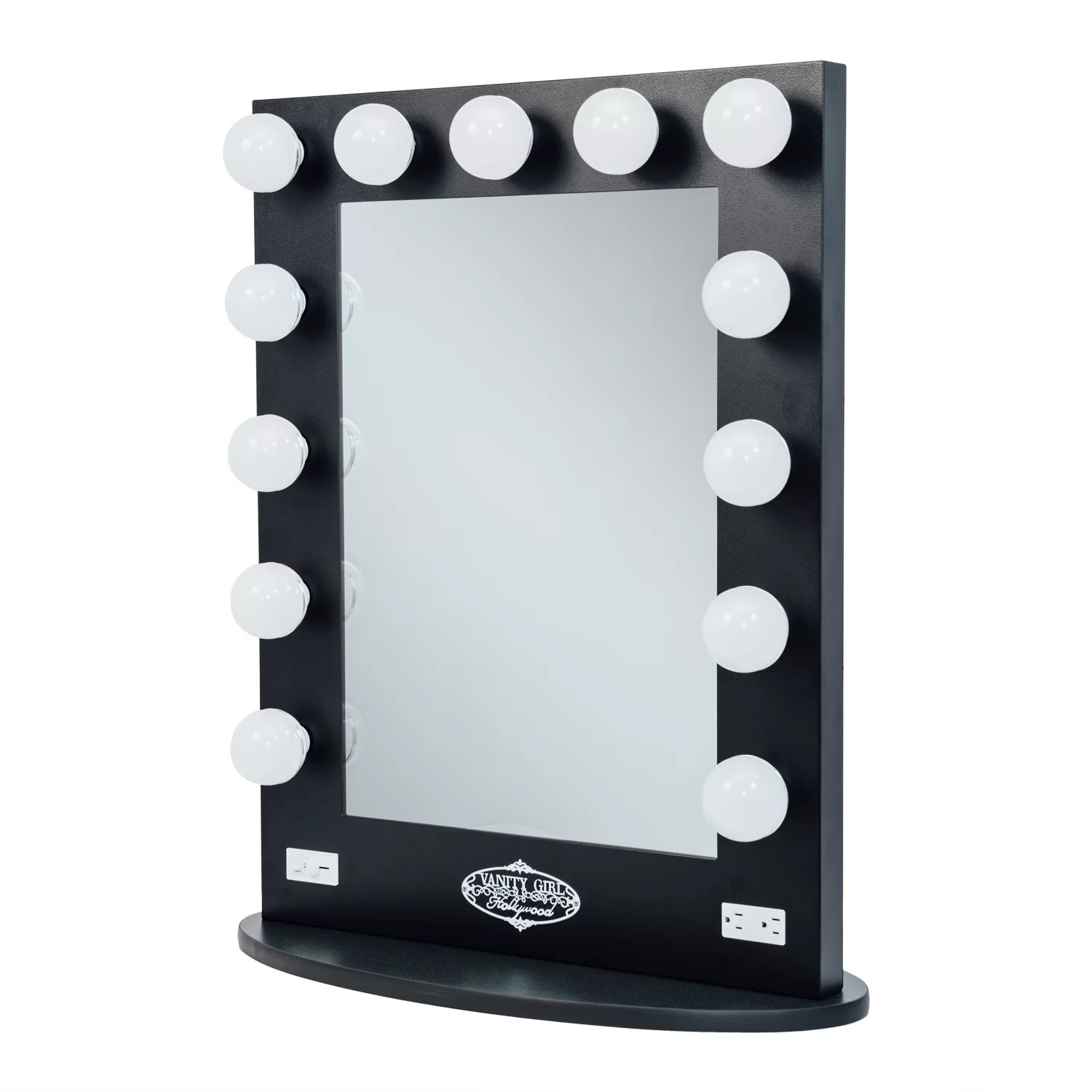 Vanity Mirrors Vanity Girl Hollywood Broadway Lighted Vanity Mirror