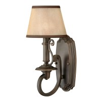 Hinkley Lighting Plymouth 1 Light Wall Sconce & Reviews ...