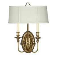 Hinkley Lighting Cambridge 2 Light Wall Sconce & Reviews ...