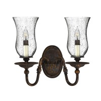 Hinkley Lighting Rockford 2 Light Wall Sconce & Reviews ...