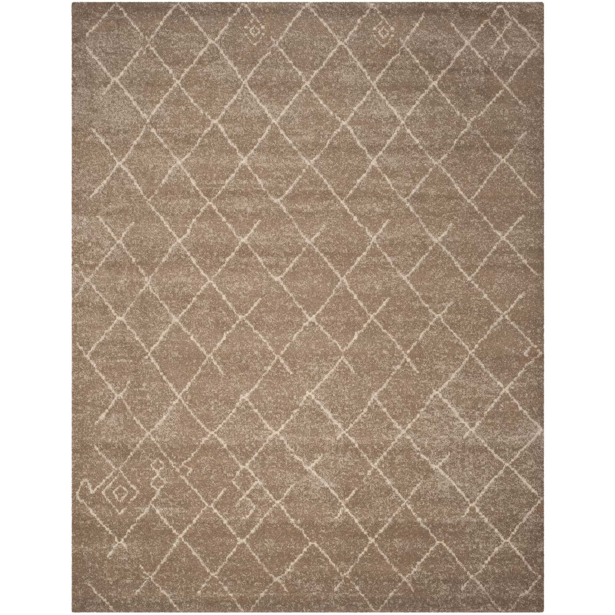 10x14 Rug Safavieh Tunisia Brown Area Rug And Reviews Wayfair