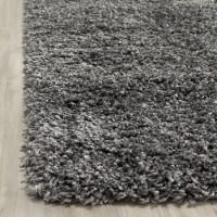 Safavieh Shag Handmade Dark Gray Area Rug & Reviews | Wayfair