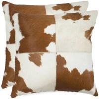 Safavieh Carley Cowhide Throw Pillow & Reviews | Wayfair