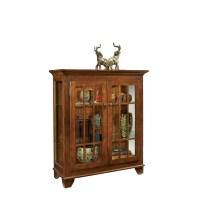 Philip Reinisch Co. ColorTime Console Curio Cabinet