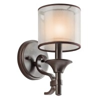 Kichler Family Spaces 1 Light Wall Sconce & Reviews | Wayfair