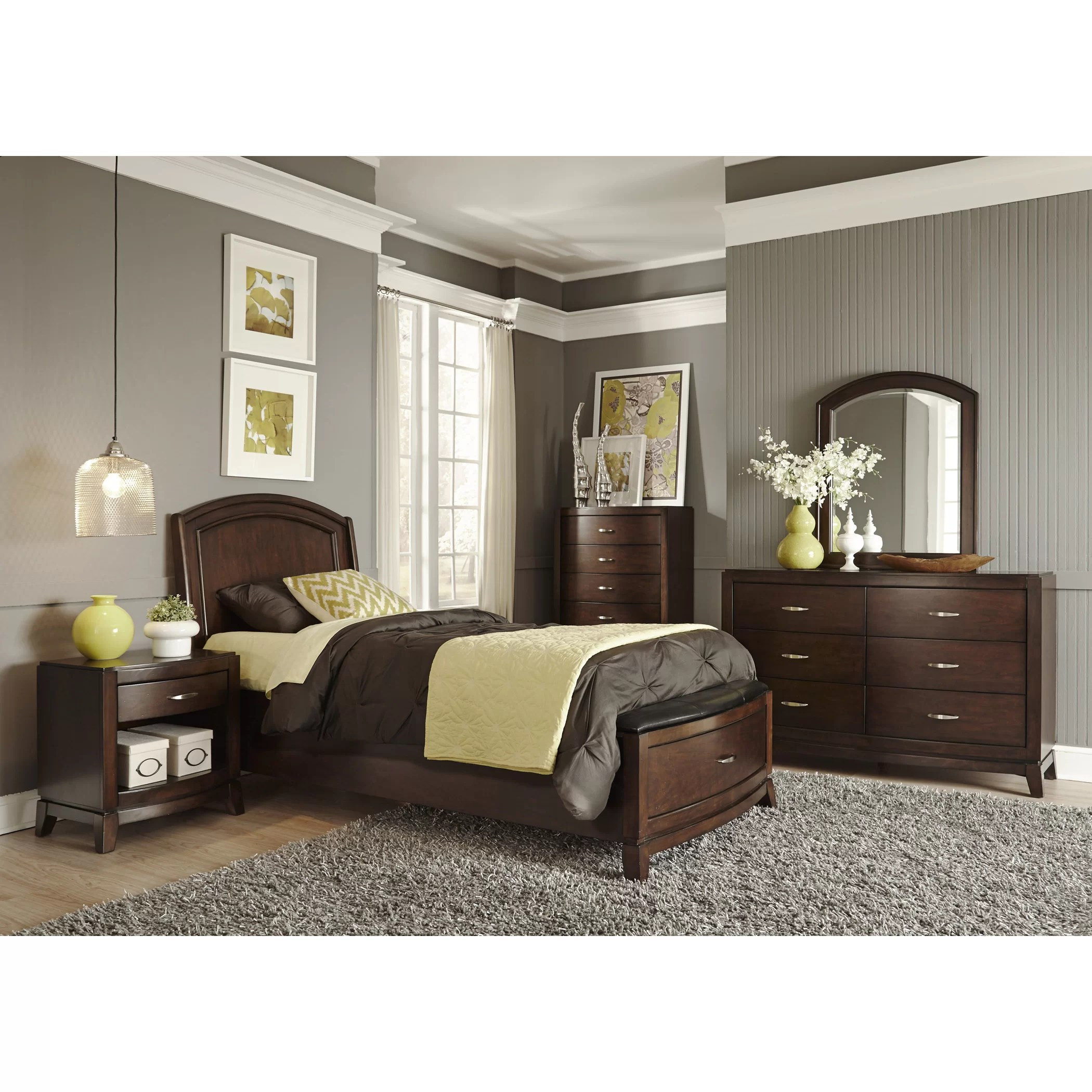 Liberty Furniture Storage Platform Customizable Bedroom