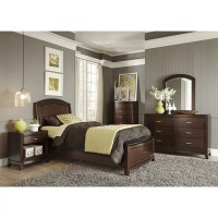 Liberty Furniture Storage Platform Customizable Bedroom