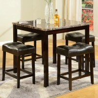 American Furniture Classics 5 Piece Counter Height Pub ...