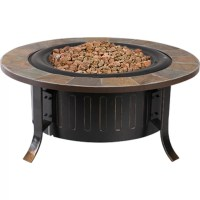 Bond Bolen Steel Outdoor Gas Table Top Fireplace & Reviews ...