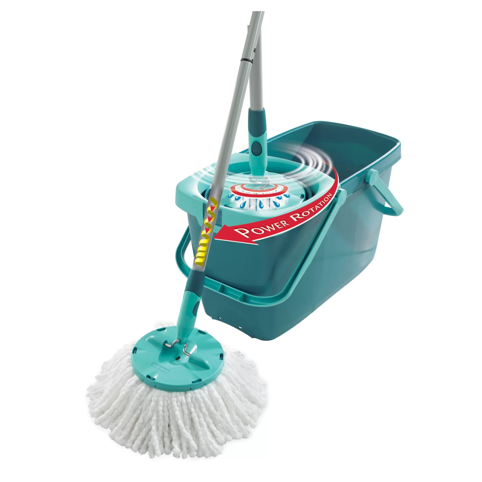 Leifheit Clean Twist Mop Leifheit Clean Twist Mop Set With Mop And Spin Bucket
