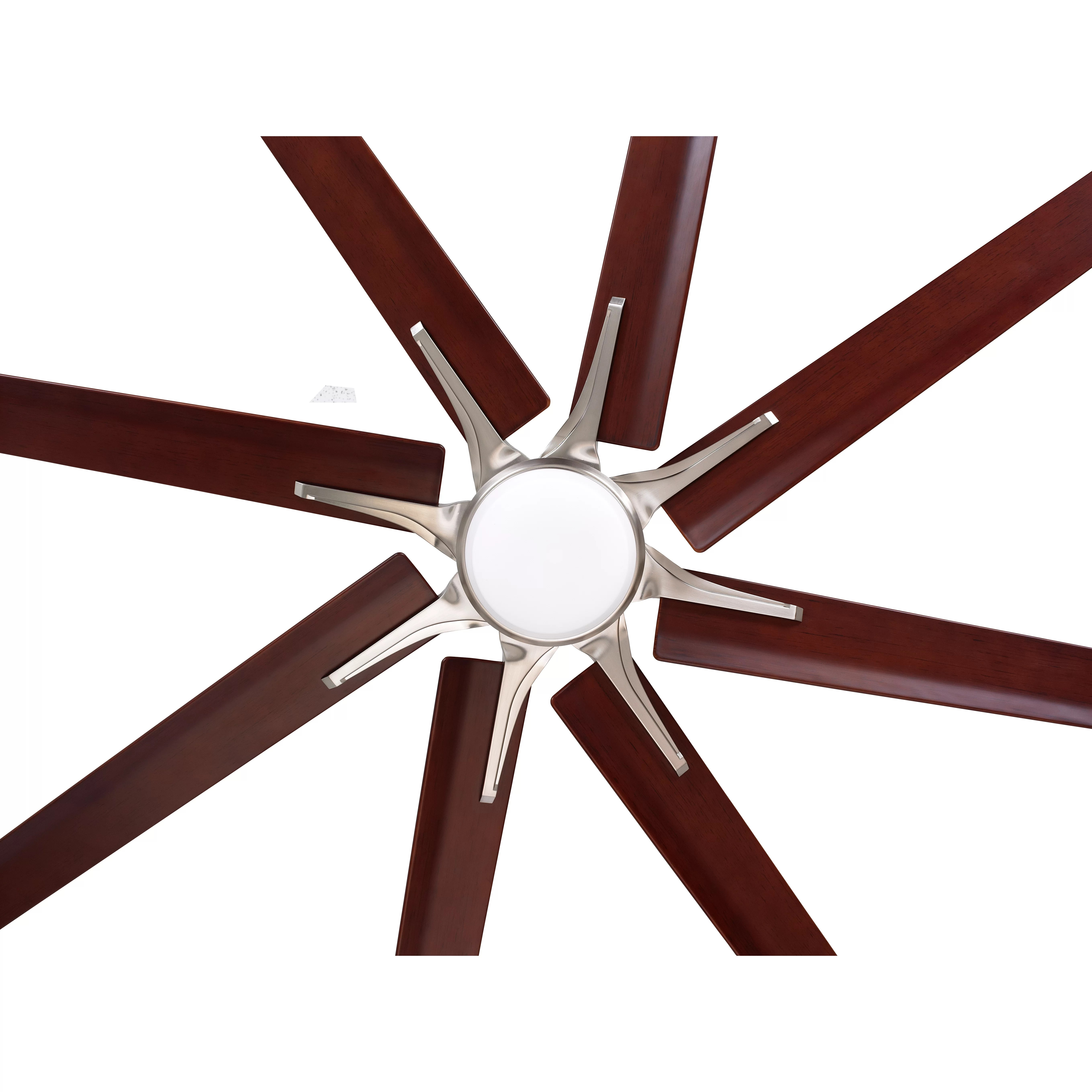 Eight Bladed Ceiling Fan Emerson Fans 72 Quot Aira Eco 8 Blade Ceiling Fan And Reviews