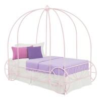 DHP Twin Canopy Bed & Reviews   Wayfair