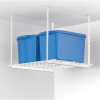 """Hyloft 27"""" x 36"""" Ceiling Mounted Shelf in White & Reviews ..."""