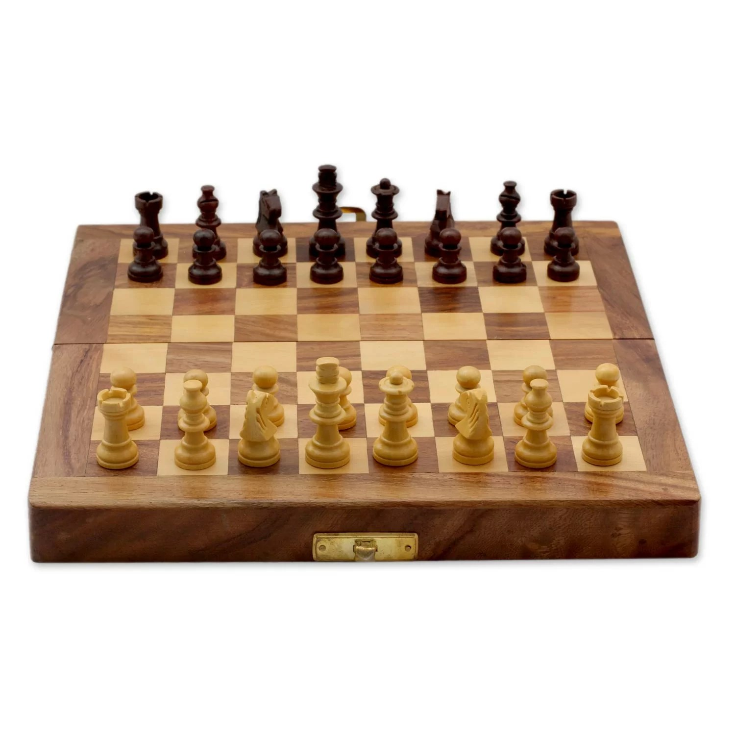 Fancy Chess Set Novica Fair Trade Decorative India Wood Chess Set Game